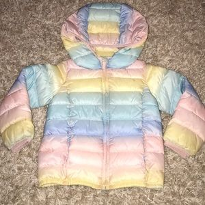 Baby Gap cold weather puffer jacket, 4T